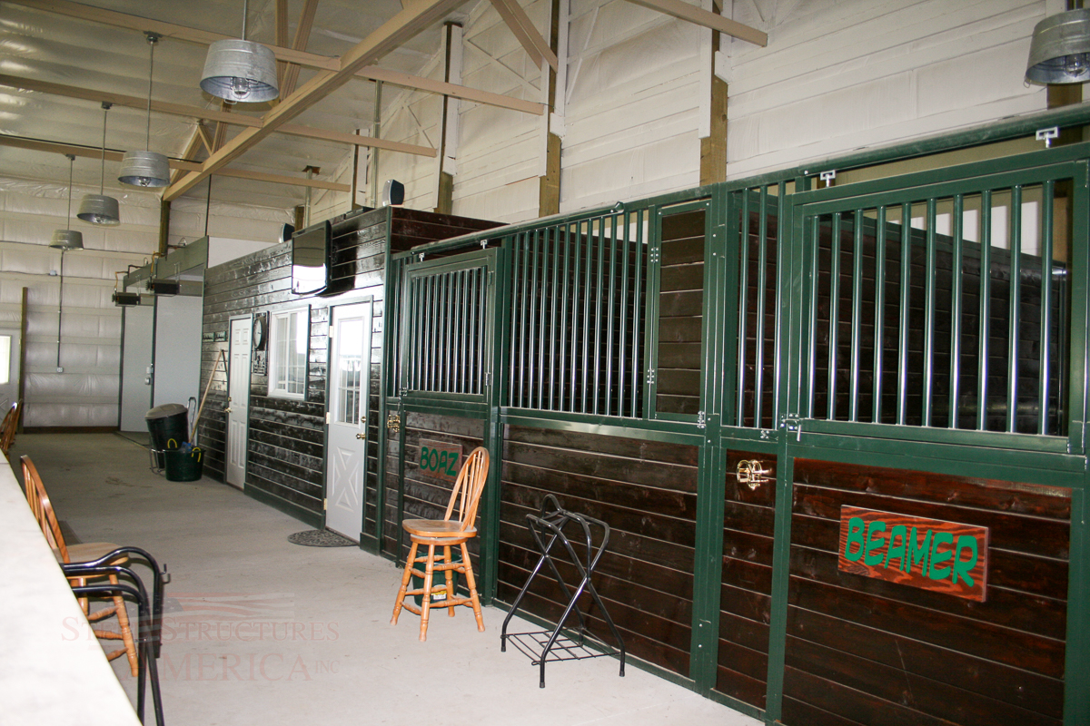 Horse Arena Barn #4182 | Steel Structures America