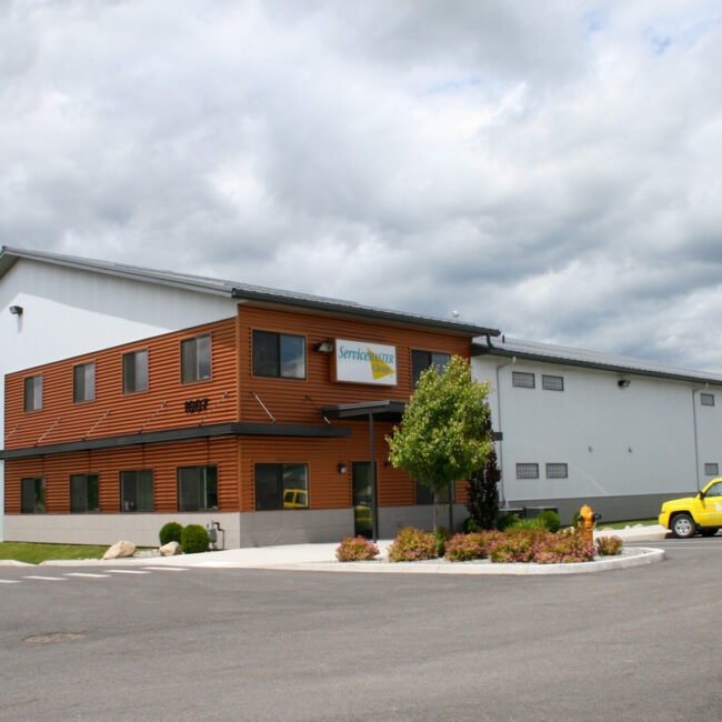 #4801 Servicemaster - Boulder Court Post Falls, ID | Steel Structures America