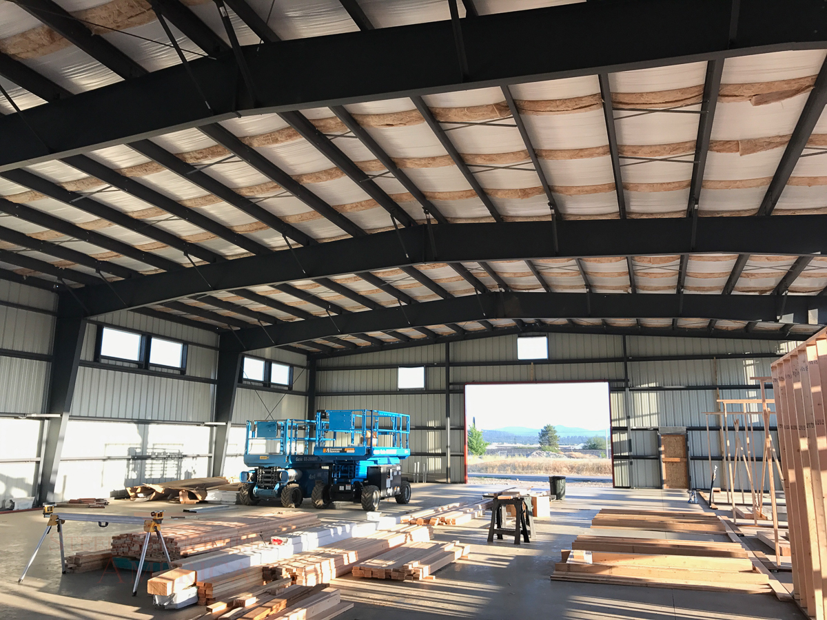#9393 – All Steel Office Building | Steel Structures America