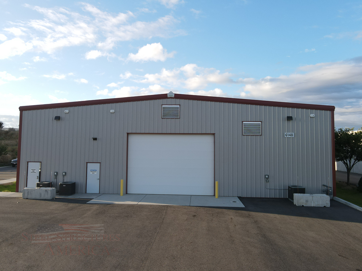 #9393 – All Steel Office Building| Steel Structures America
