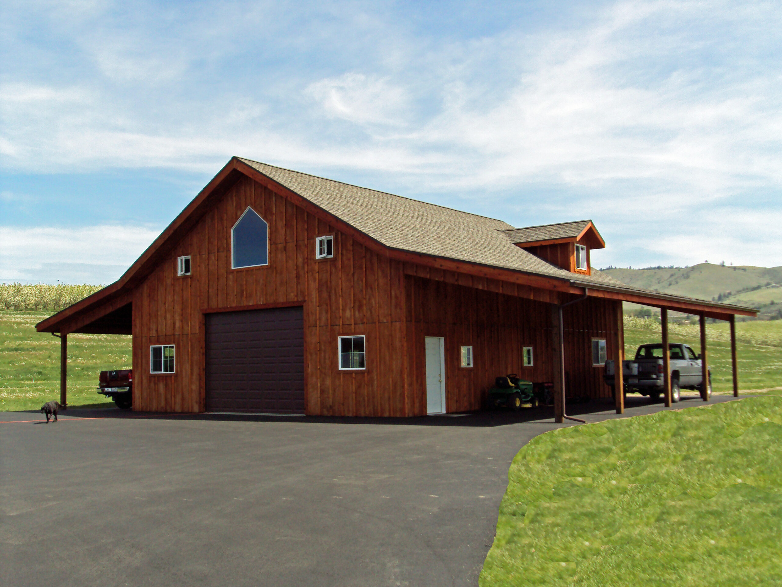 Traditional Residential Overhead Doors | Steel Structures America