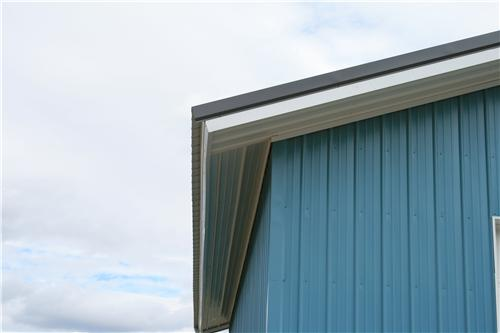 Roof Overhangs with Fascia Soffits | Steel Structures America