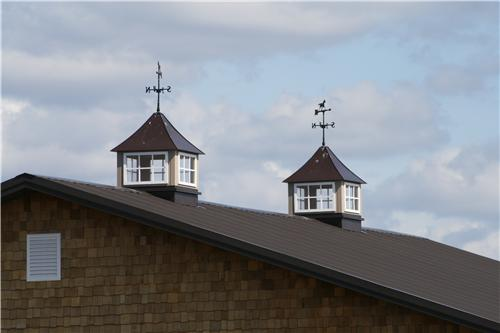 Metal Cupola and Weathervanes   Steel Structures America