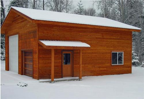 Wood Siding | Steel Structures America