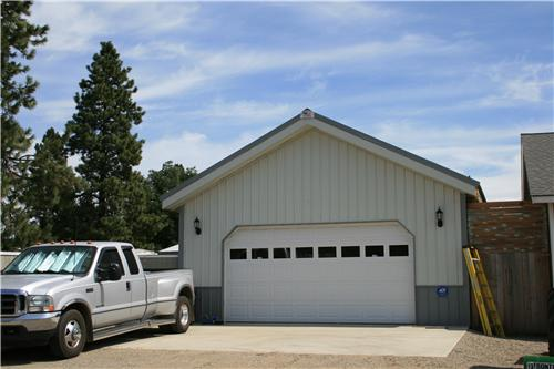 Traditional Residential Overhead Doors   Steel Structures America