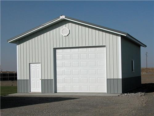 Small Garage Shop Building #2441| Steel Structures America