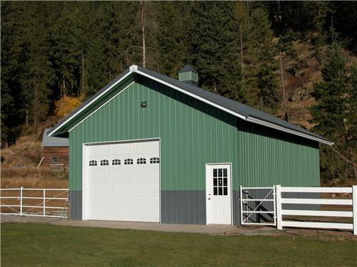 Mid Size Shop Building #1569| Steel Structures America