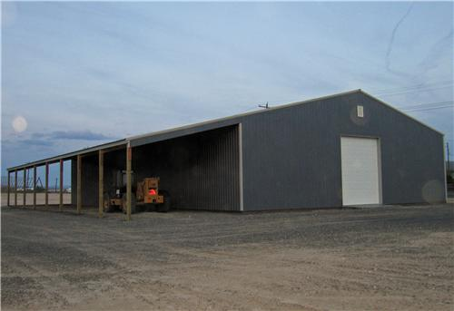#5217 - Large Equipment Storage Building - Moxee, WA | Steel Structures America