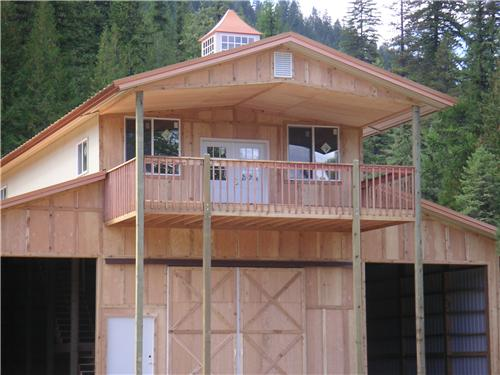 Monitor Style Hunting Cabin #2315 | Steel Structures America