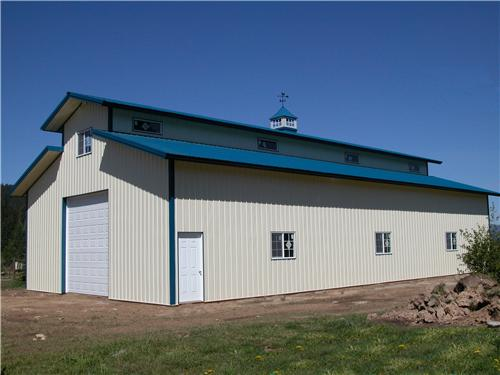 Monitor Style Metal Shop #2341| Steel Structures America