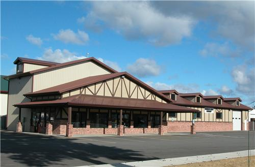 #887 - 50x40x22 Commercial Business | Steel Structures America