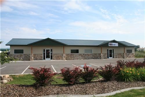 30x46x9 Office Space #3107 | Steel Structures America