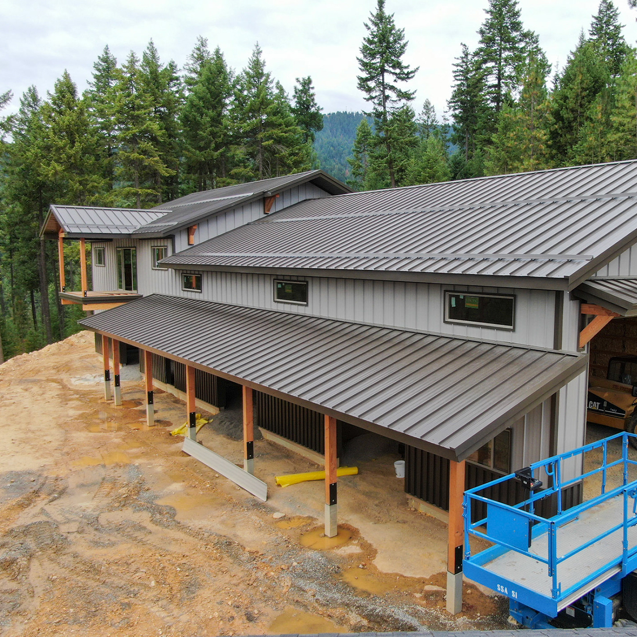 Commercial Building   Steel Structures America