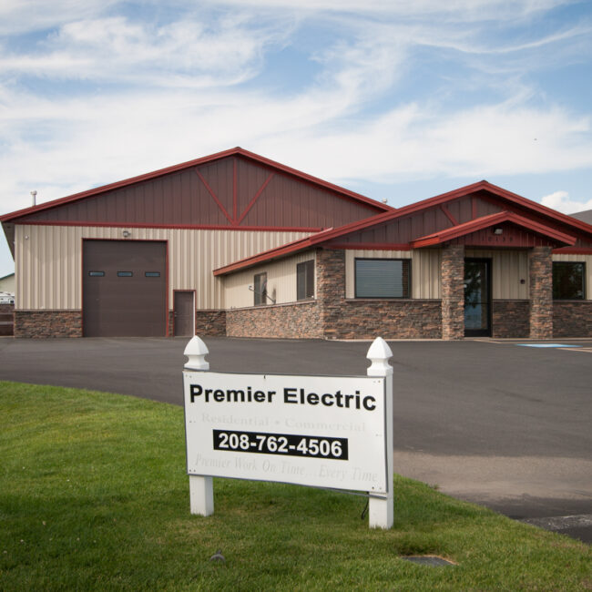 #3814 - Premier Electric - Commercial Office and Warehouse | Steel Structures America