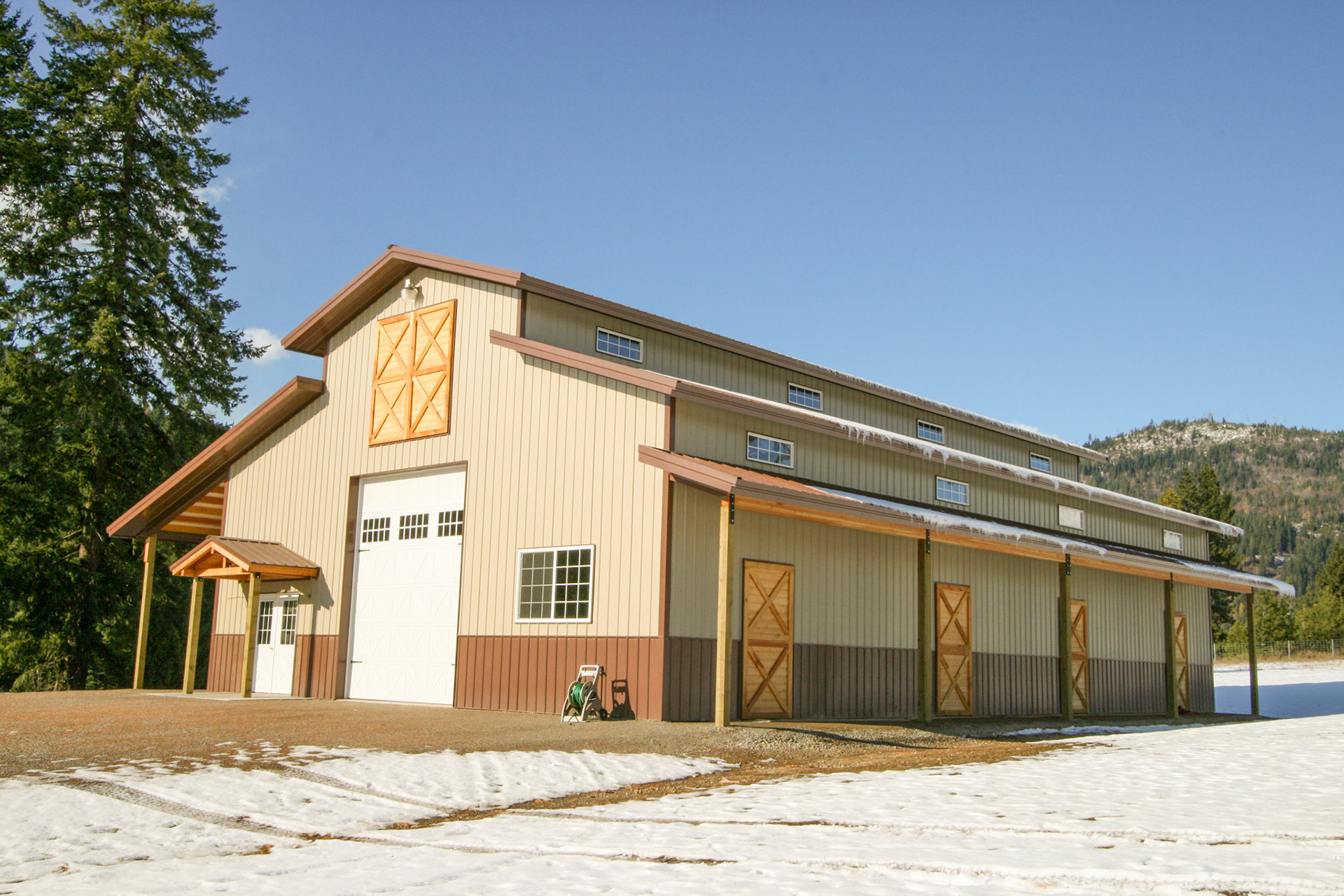 Barns & AG Buildings | Steel Structures America