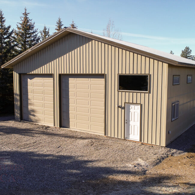 RV & Boat Garage with Shop | Steel Structures America
