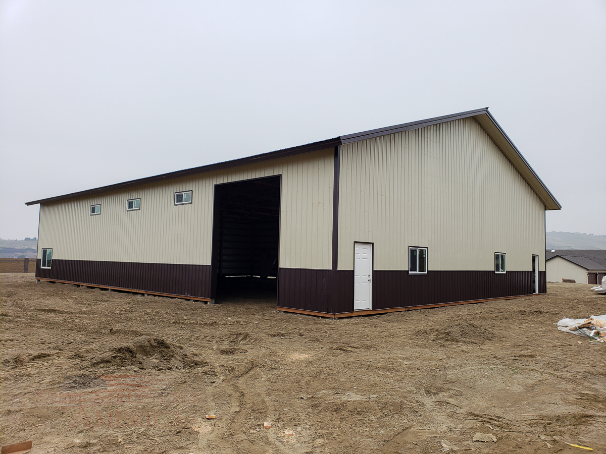 10628 – Kennewick Pole Barn – 60x84x16-02