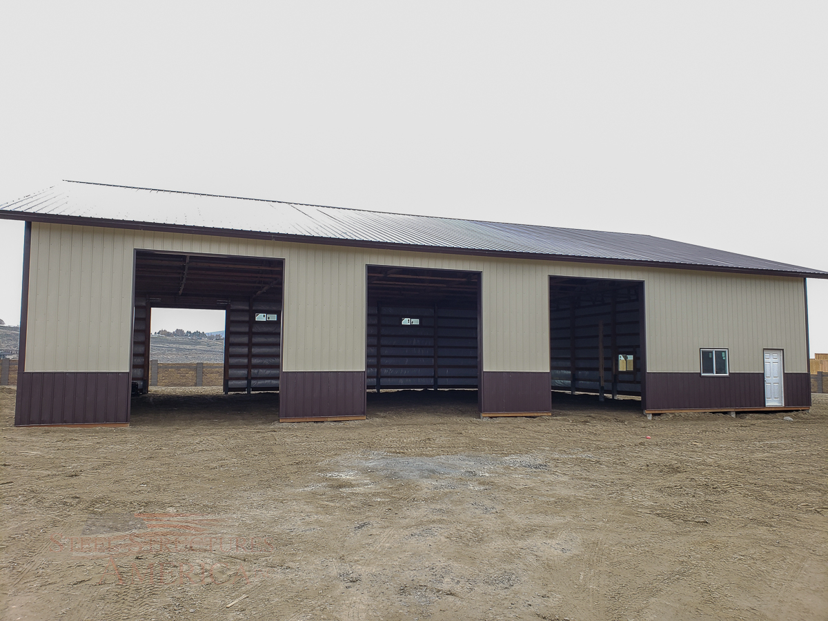 10628 – Kennewick Pole Barn – 60x84x16-03