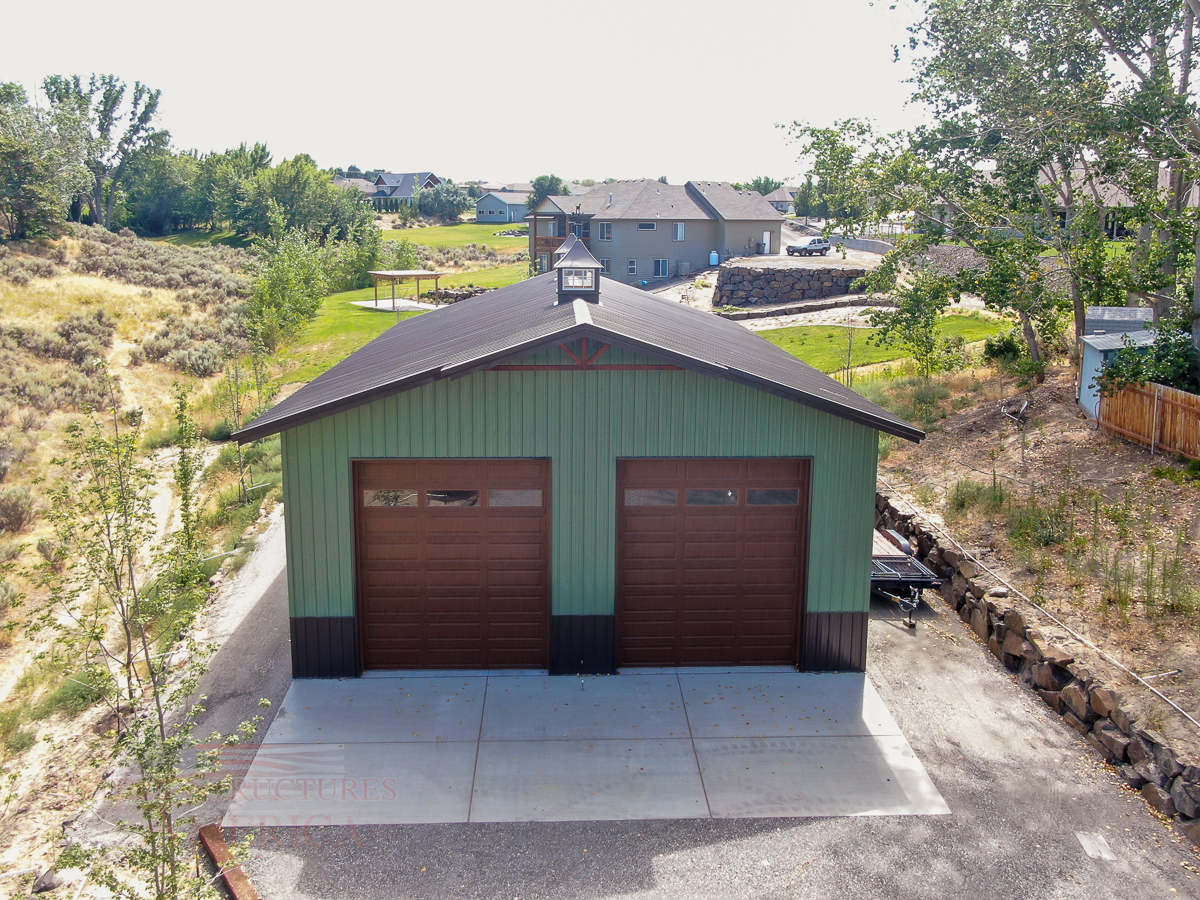 10740 – Kennewick – 36x60x16 | Steel Structures America