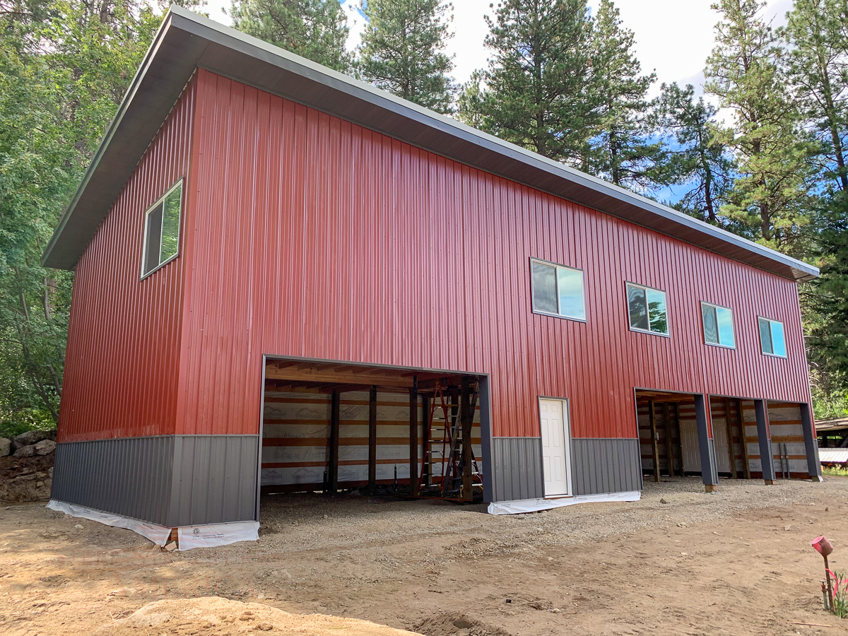 10818 Murray – 26x72x18 shop with living quarters above pole building-3