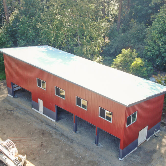 Shop with Living Quarters 26x72x18 | Steel Structures America