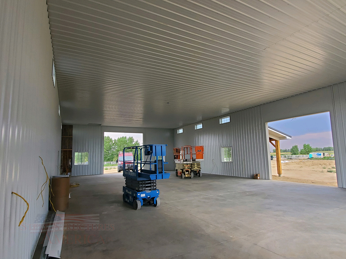 #10822 Monitor Shop Home – 40x72x16| Steel Structures America