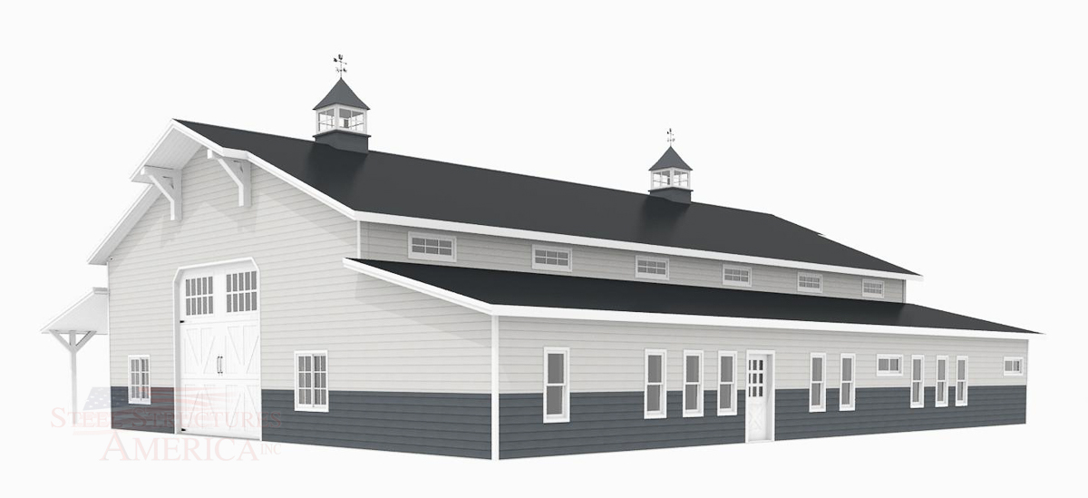 #10822 Monitor Shop Home – 40x72x16 | Steel Structures America