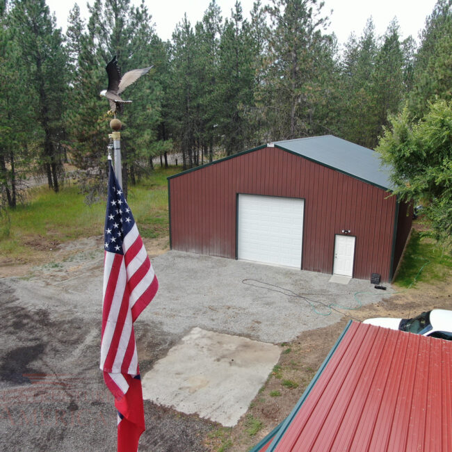 40x40x14 Colber, Washington | Steel Structures America