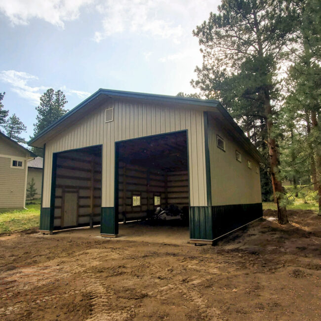 32x48x16 Conifer CO | Steel Structures America