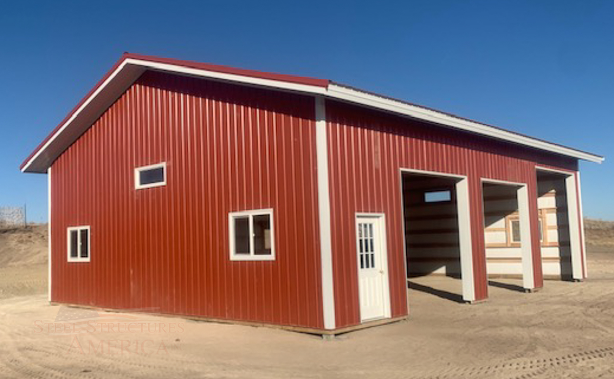 #10964 - 36x48 - Peyton CO-4 | Steel Structures America