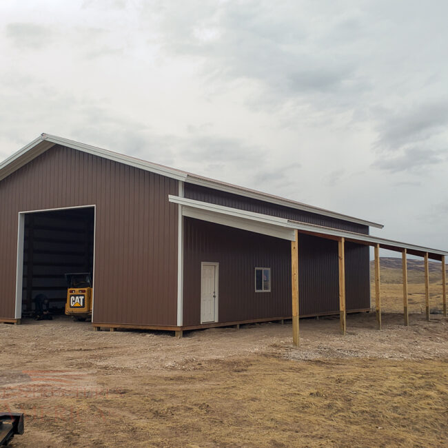 11313 Parks - 40x60x16 -Fort Collins, CO | Steel Structures America