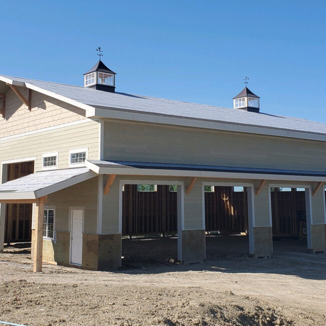 11346 high end shop - 50x70x18 | Steel Structures America