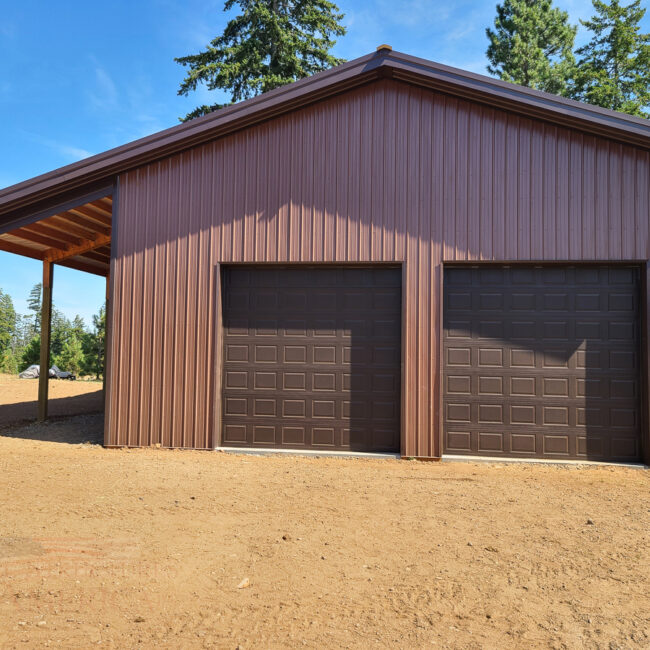 11478 shop with loft | Steel Structures America