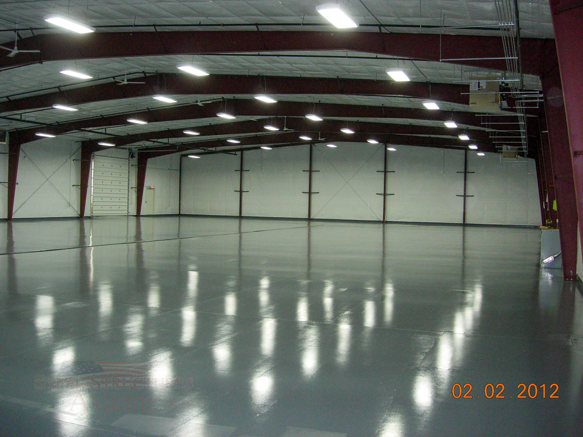 #5071 – Northwest Agricultural Products – 40x96x16 – Pasco, WA | Steel Structures America