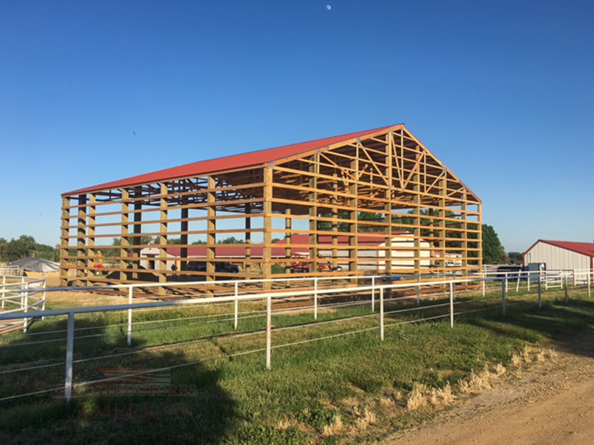 7897 – ag storage post frame barn-1