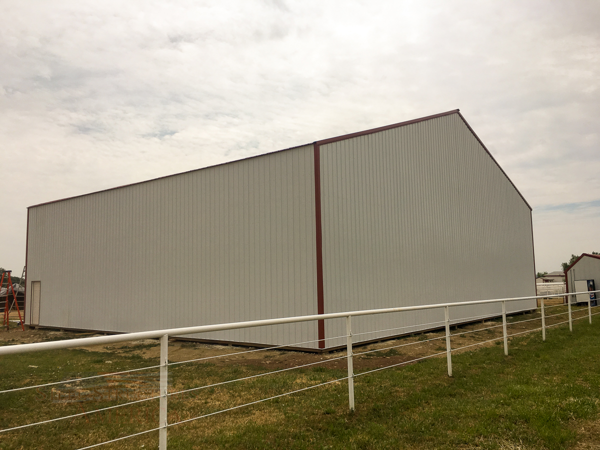 7897 – ag storage post frame barn-7