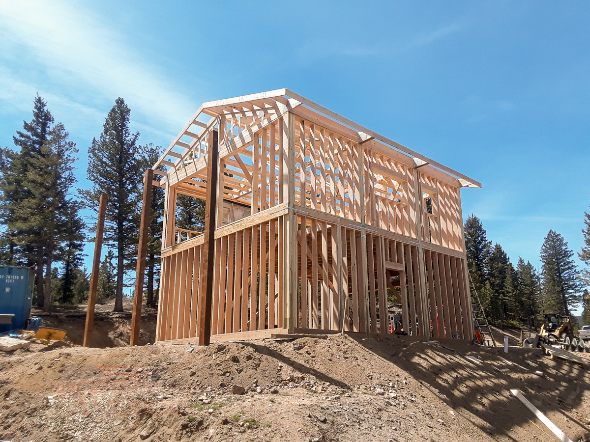 8499 Villani – 24x30x20 2 Story Garage with Living Quarters- Golden, CO | Steel Structures America