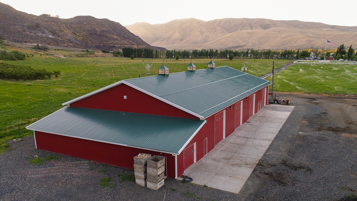 8967 Long Ranch Ag Storage Building | Steel Structures America