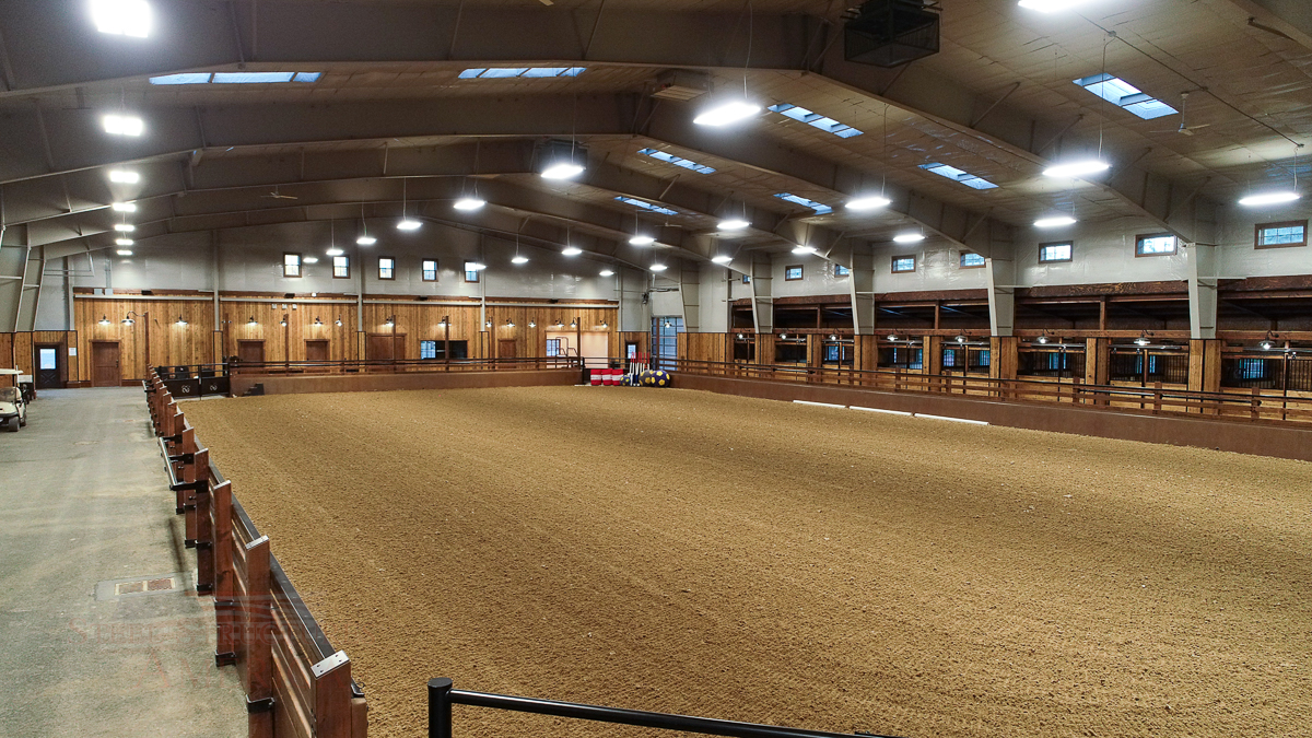 #9100 – Rathdrum Horse Barn and Riding Arena | Steel Structures America