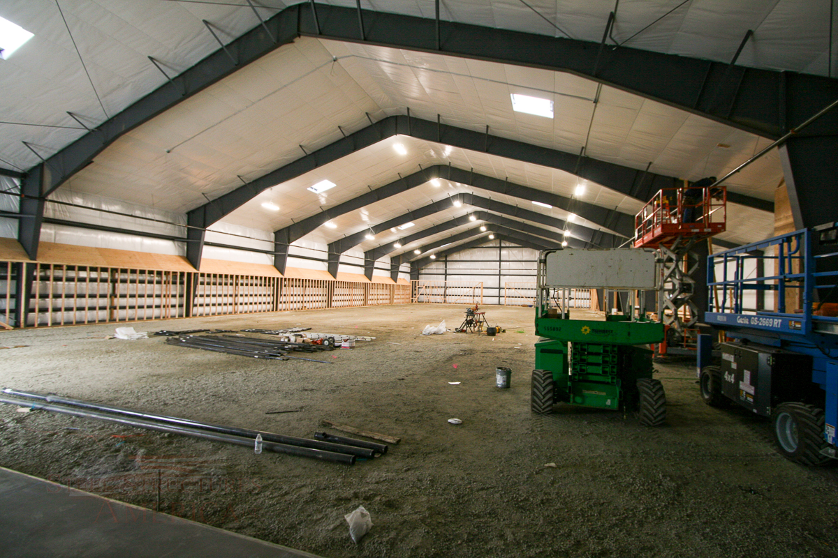 #9100 – Rathdrum Horse Barn and Riding Arena   Steel Structures America