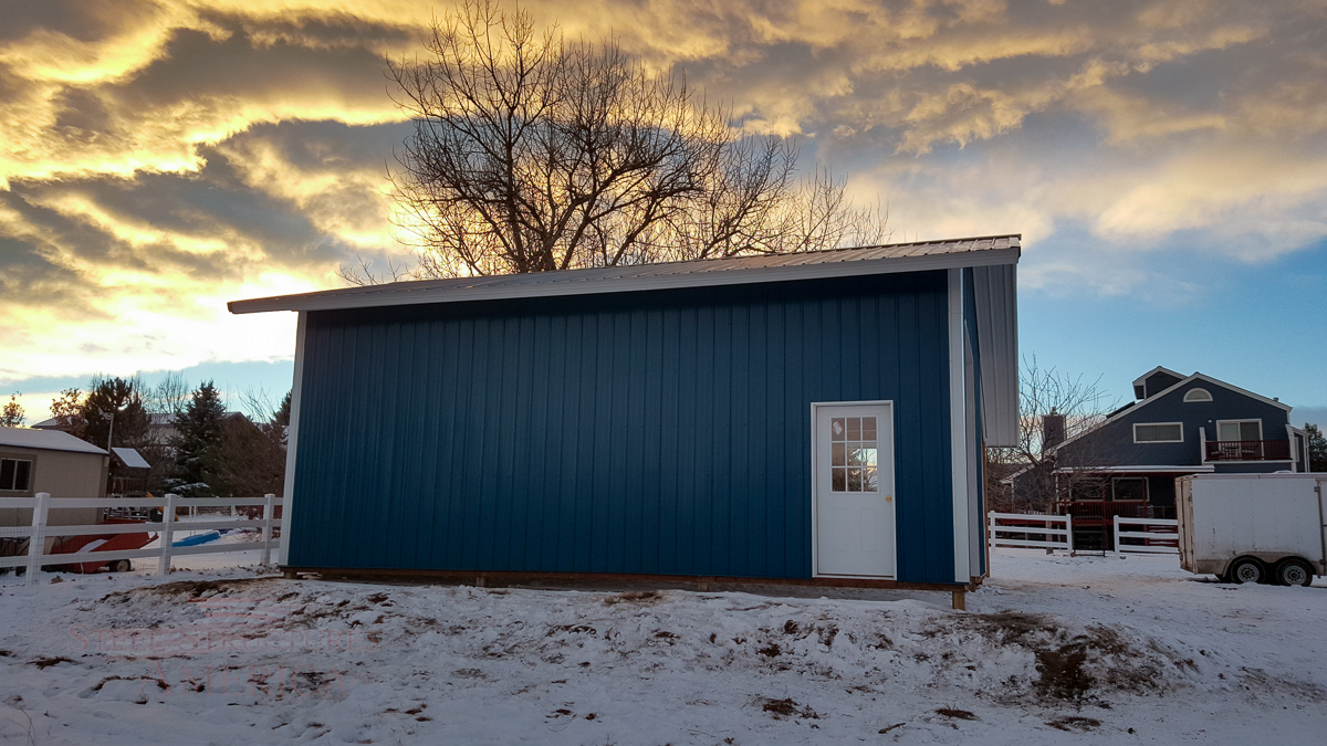 9179 – Open Range Colorado Horse barn with lean to-05