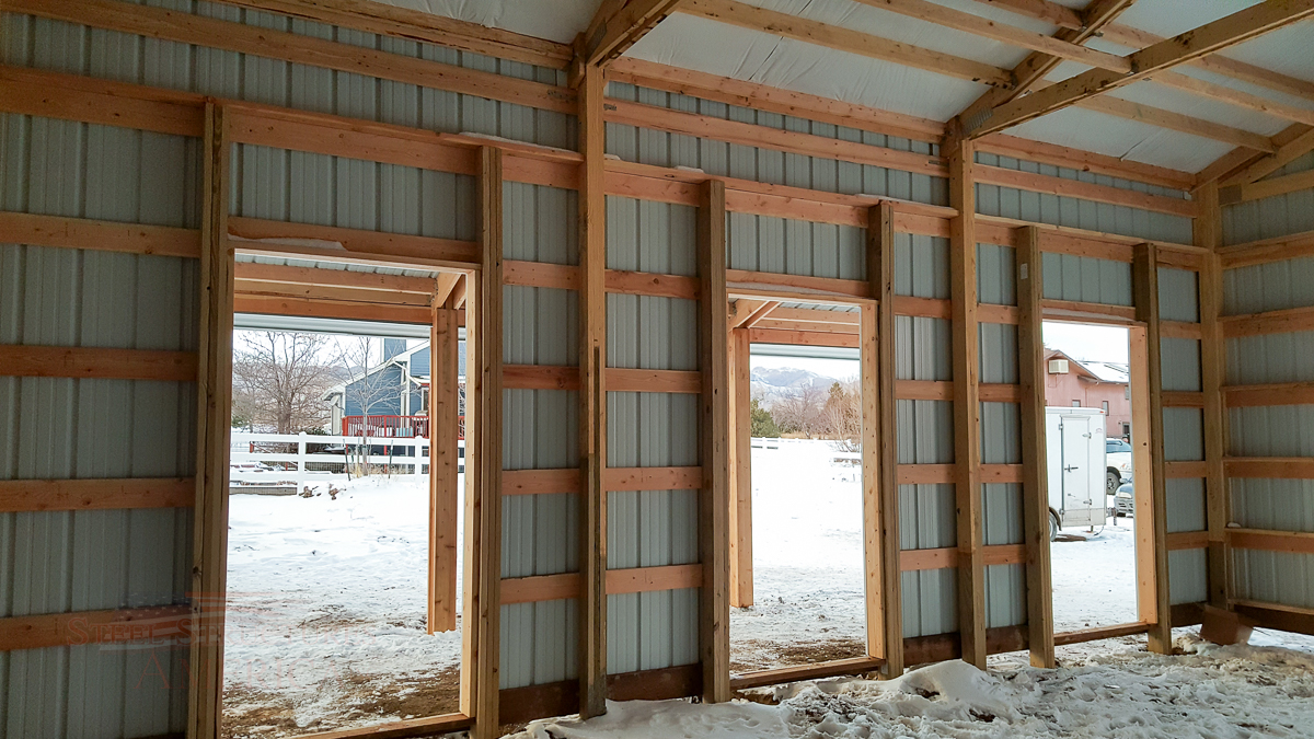 9179 – Open Range Colorado Horse barn with lean to-08
