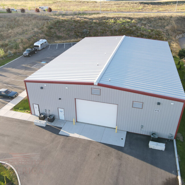 9393 All Steel Office Building | Steel Structures America