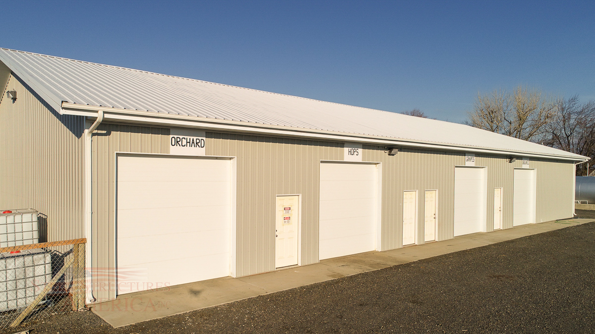 #9446 – Olsen Brother's Ranches – 50x100x12 – Prosser, WA| Steel Structures America