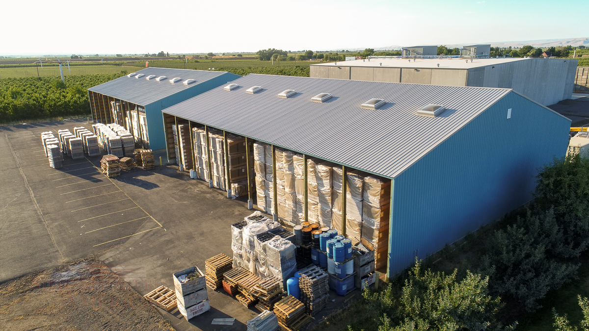 Pride Packing Pole Buildings AG Storage | Steel Structures America
