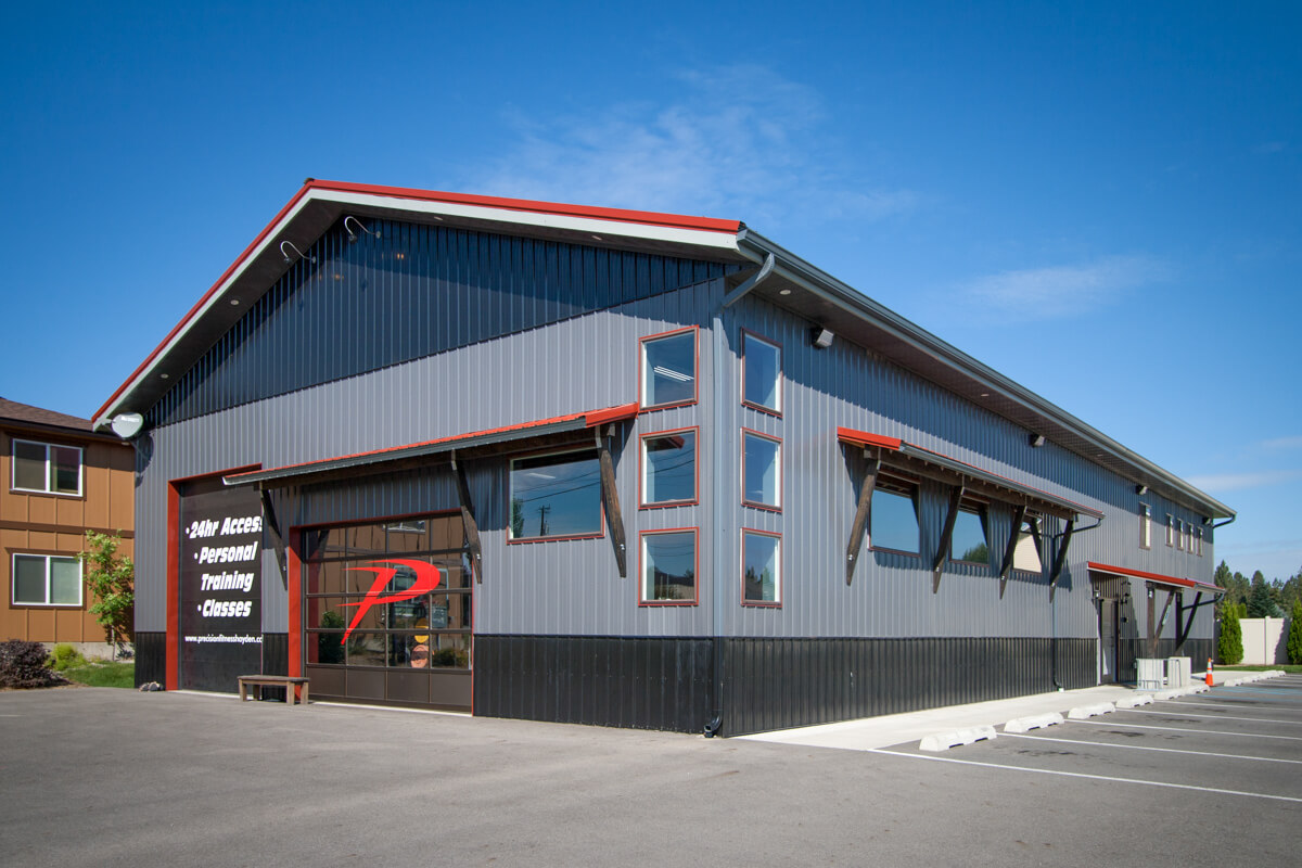 Post Frame Gym   Steel Structures America